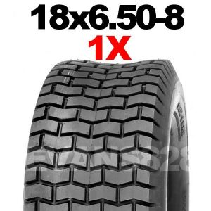 18x6.50-8 MOWER TYRE FOR RIDE ON LAWN MOWERS.